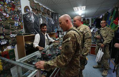 cómo abrir una tienda militar